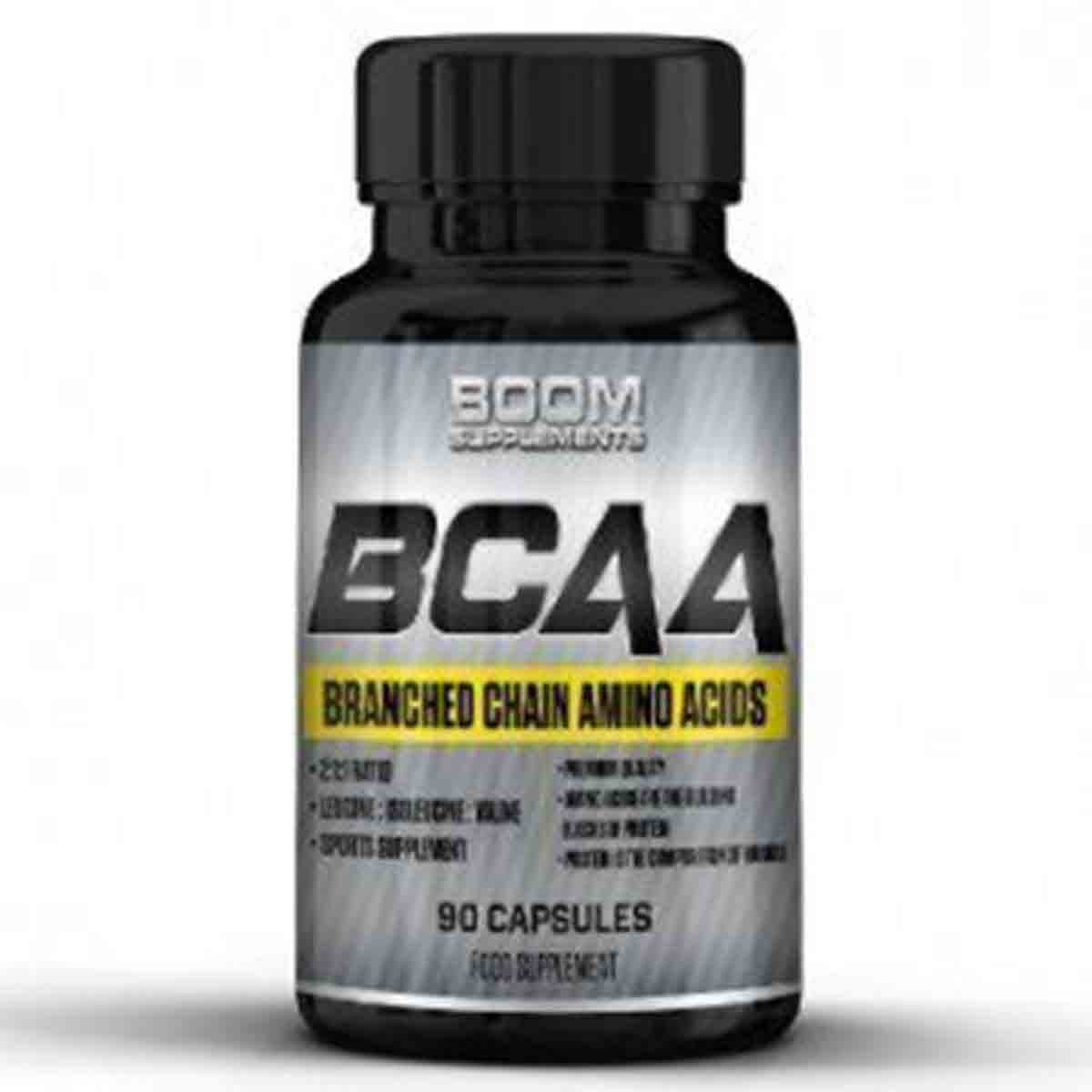 Boom Supplements BCAA Capsules