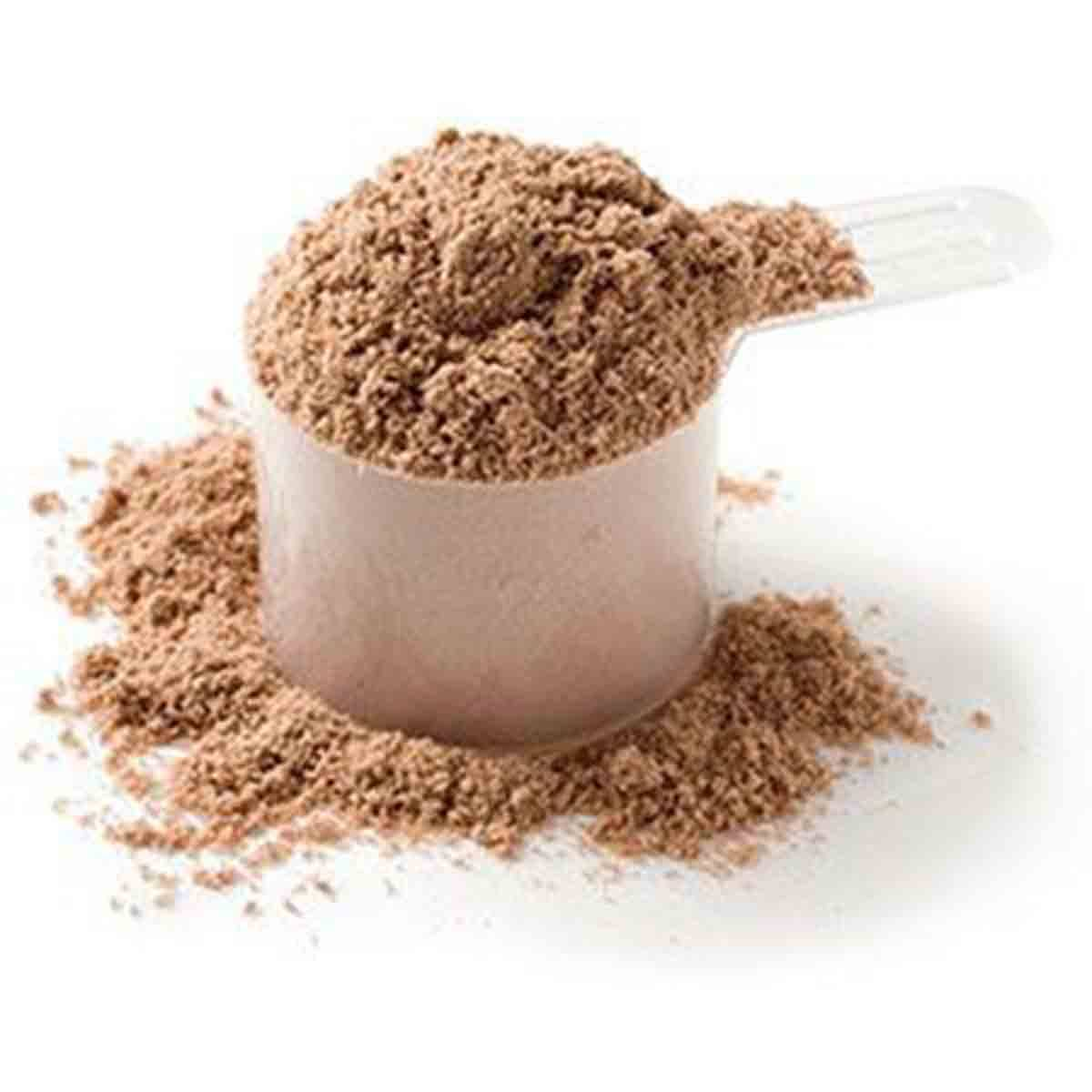 Casein vs Whey Protein, powder scoop