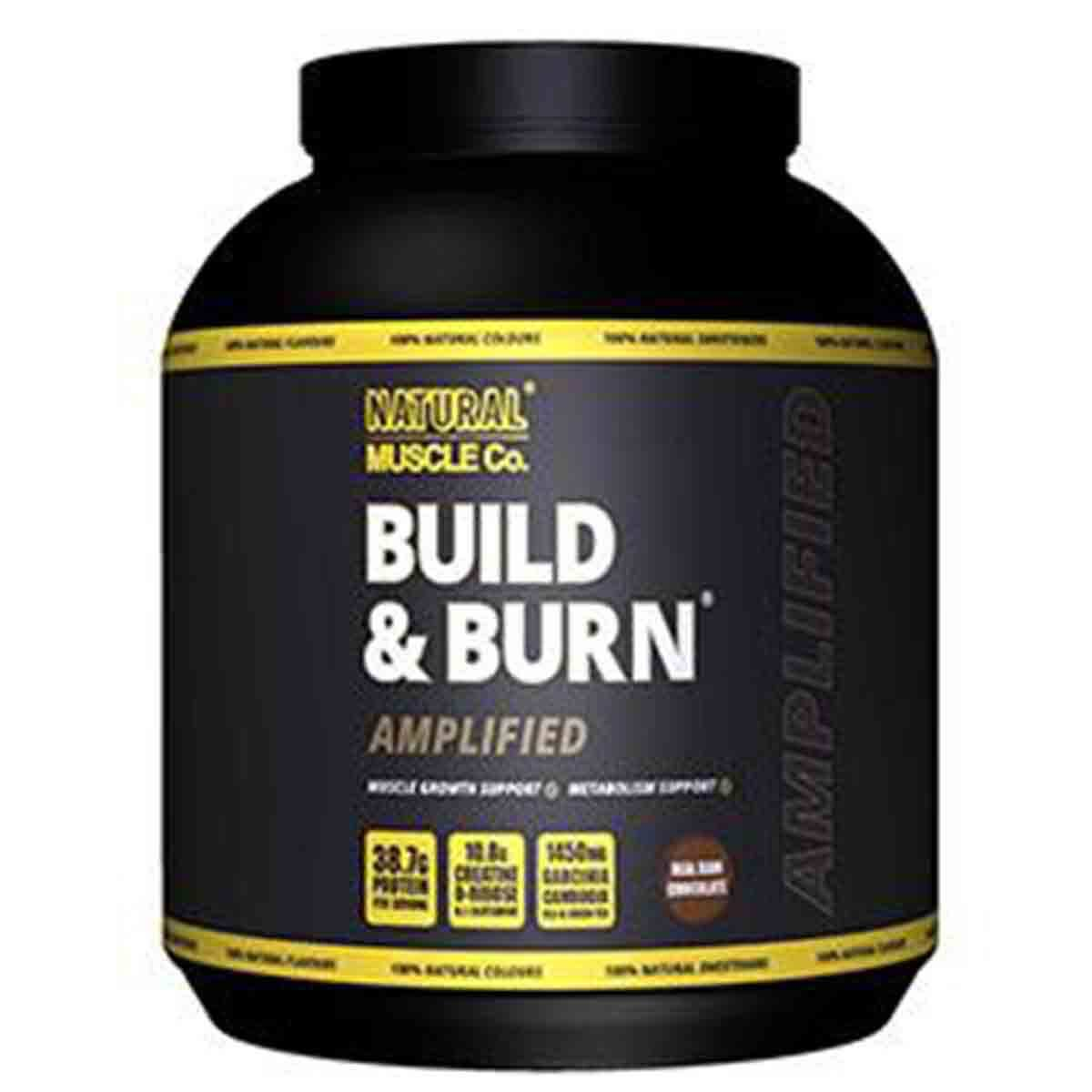 Build & Burn Amplified Natural Muscle Company