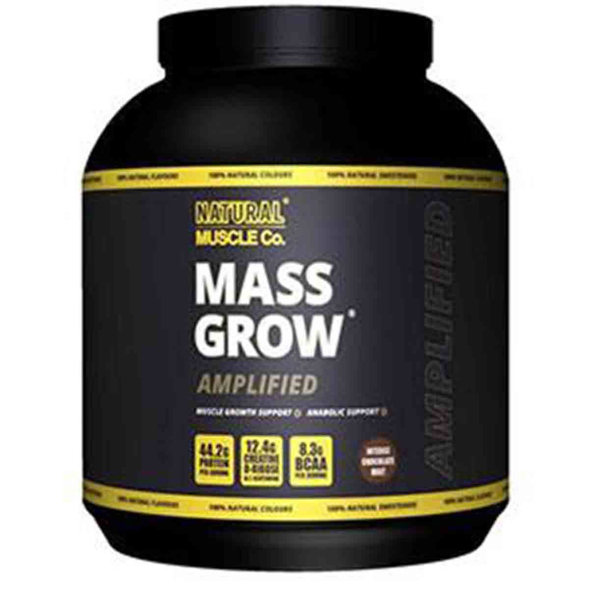 Mass Grow Amplified Natural Muscle Co