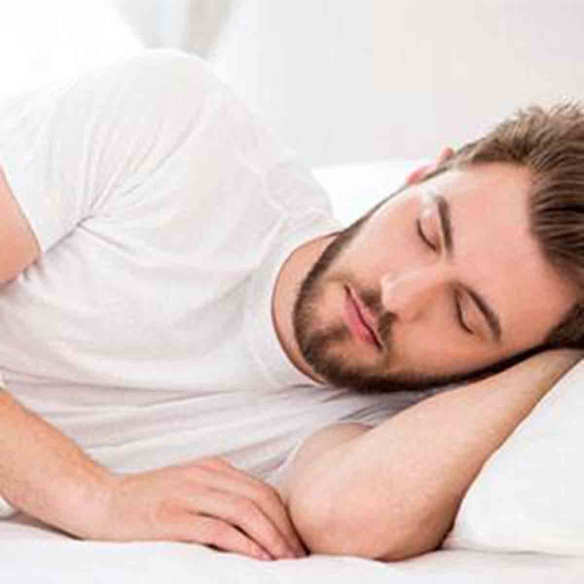 Increase HGH - Sleep Man Sleeping