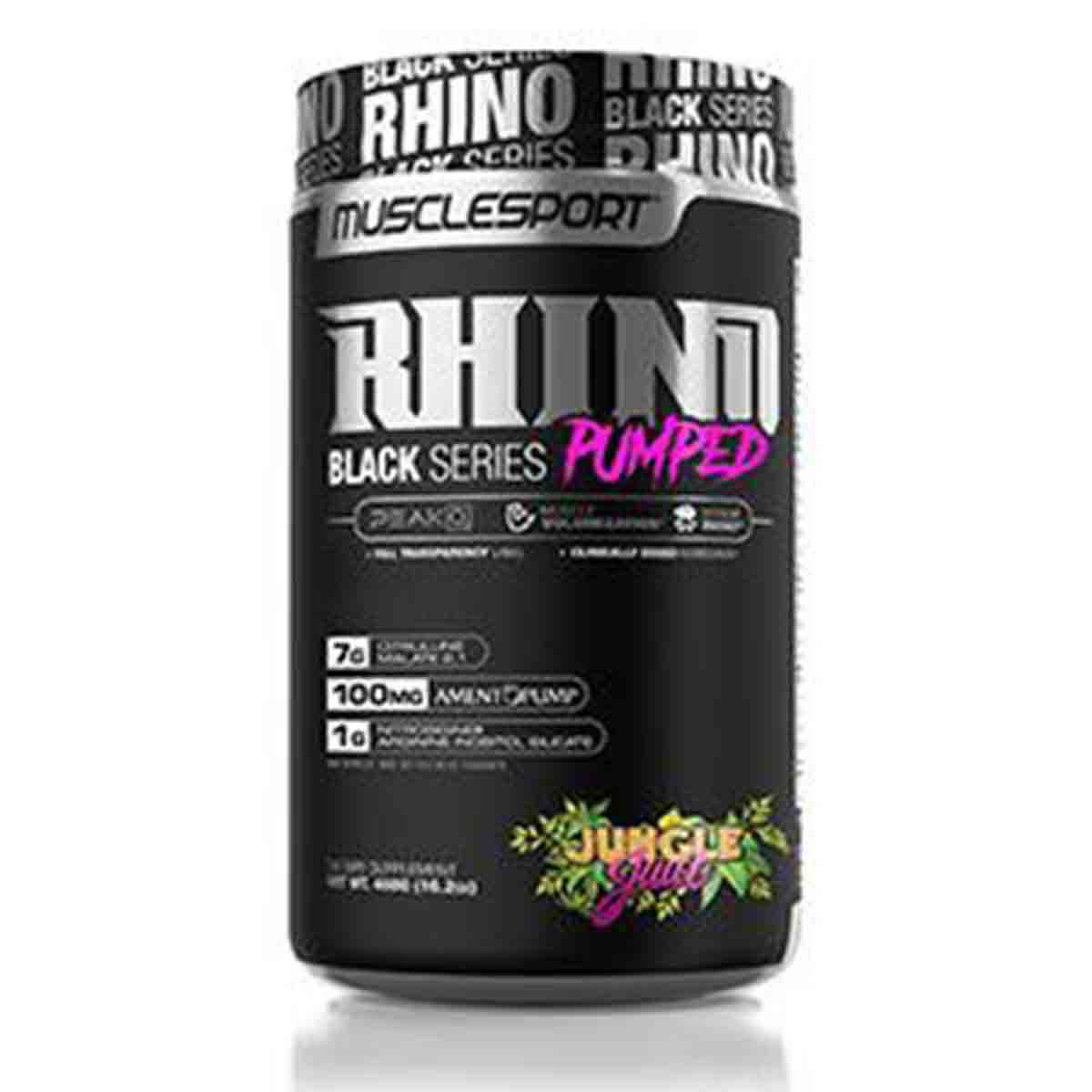 Rhino Black Pumped
