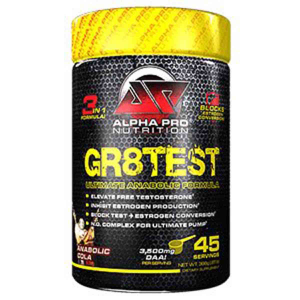 Alpha Pro Nutrition Gr8test