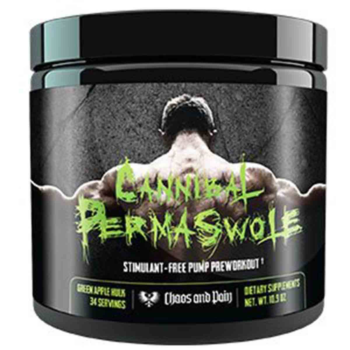 Chaos and Pain Cannibal Permaswole PreWorkout