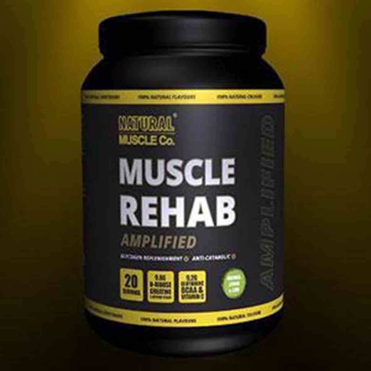 Natural Muscle Co. Muscle Rehab Amplified