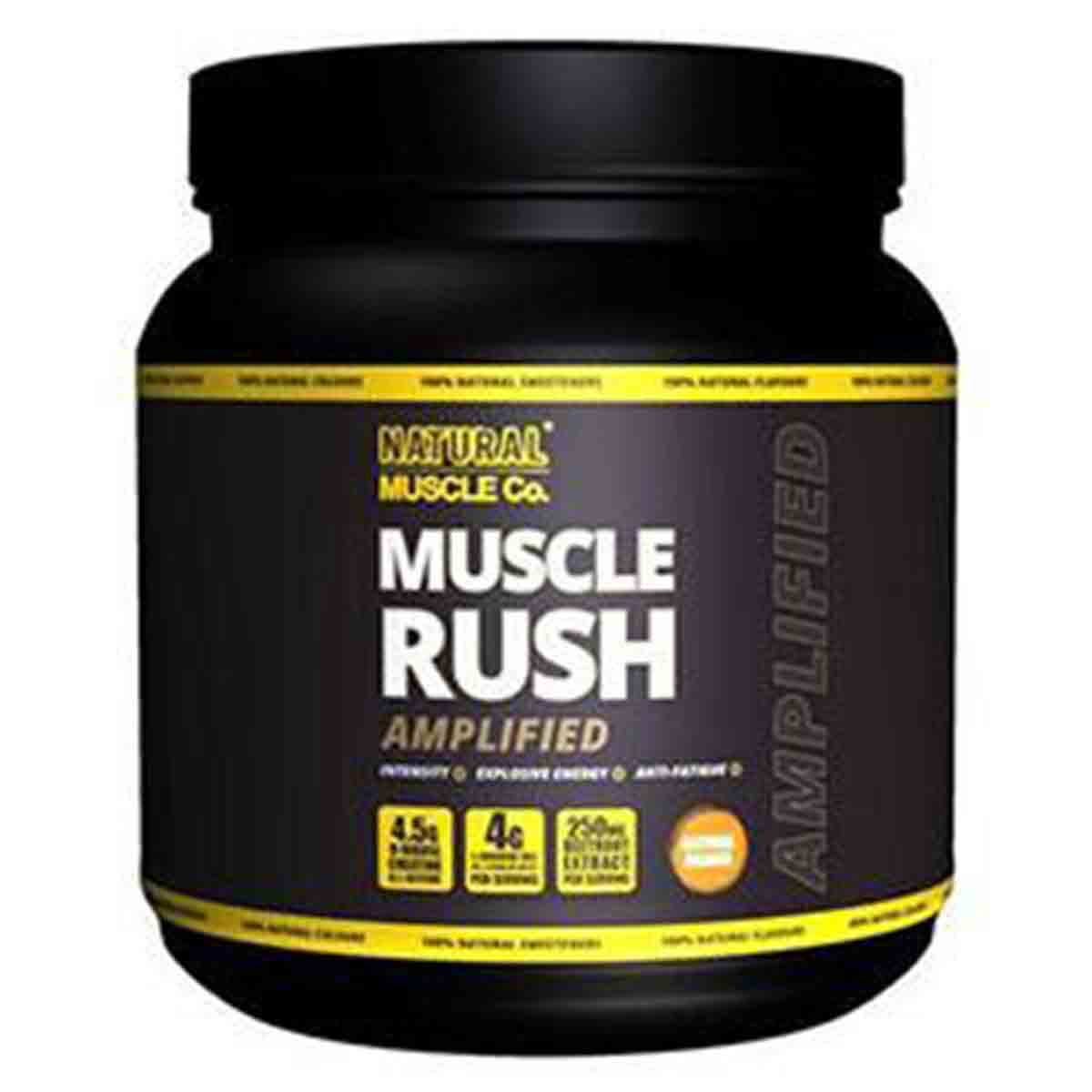 Natural Muscle Co. Muscle Rush Amplified
