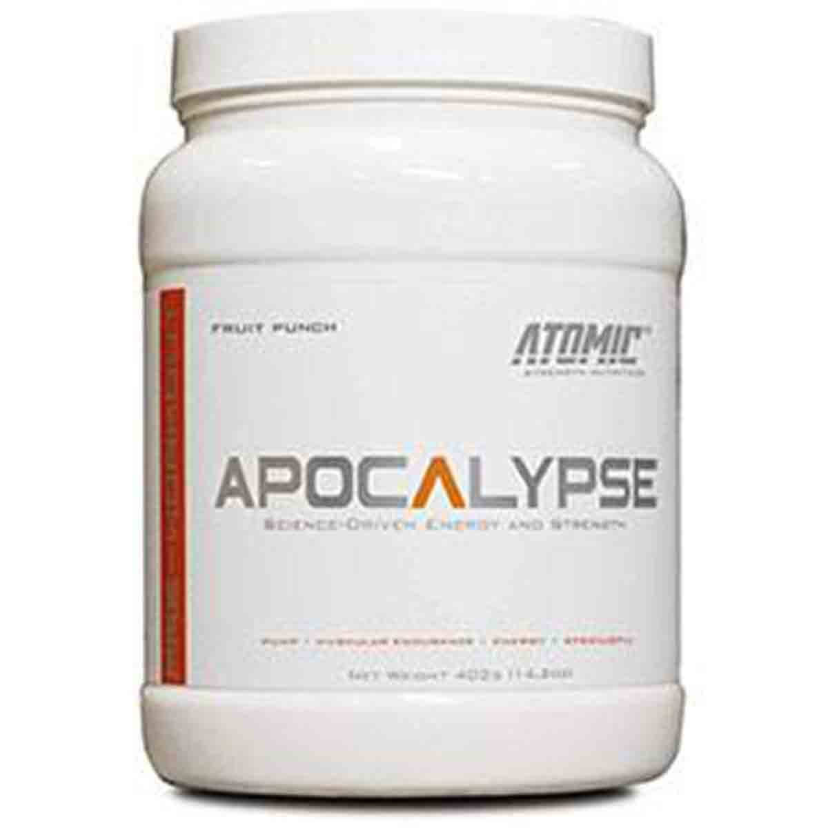 Atomic Strength Nutrition Apocalypse