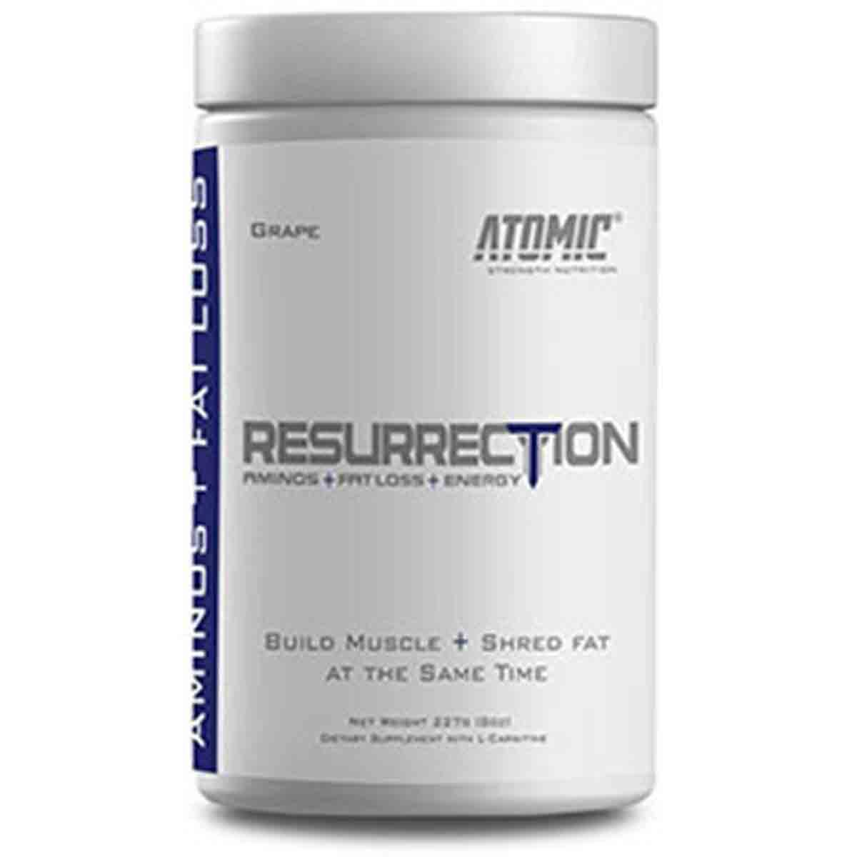 Atomic Strength Nutrition Resurrection